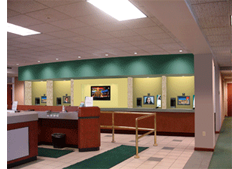 Photo of lobby with Remote Teller Stations